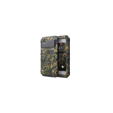 Capa impermeável Compatível com o iPhone 7 / iPhone 8, com Protetor de Tela e Corpo Dura Forte A Prova d'Água 3 metros - 2 Horas - IP68 - Camuflado