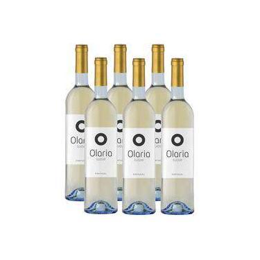 Vinho Português Olaria Branco Suave 750ml 06 Unidades