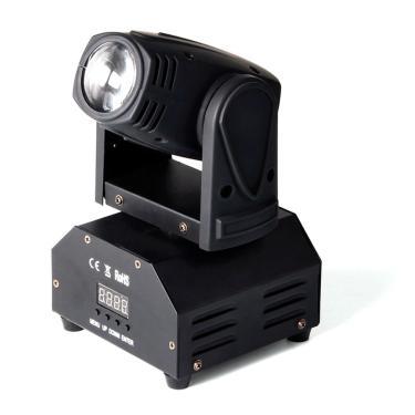 Mini Moving head Beam 12 watts quadriled Rgbw Dmx Bivolt