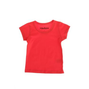 Camiseta Infantil Vermelha Avenida