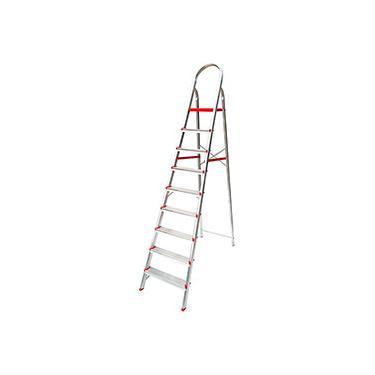 Imagem de Escada de 9 Degraus Suprema Botafogo Lar&Lazer - Alumínio