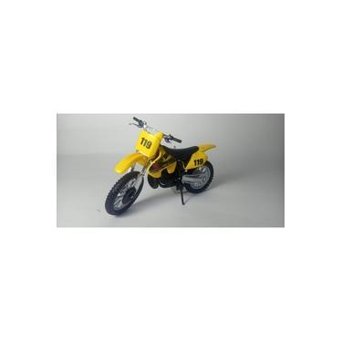 Imagem de Miniatura Moto Motocross Suzuki RM250 Escala 1:18!