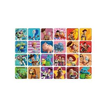 Imagem de Jogo Da Memória Disney Pixar Toy Story 4 48 Peças Jak