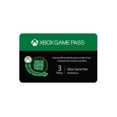 Gift Card Digital Xbox Game Pass 3 Meses