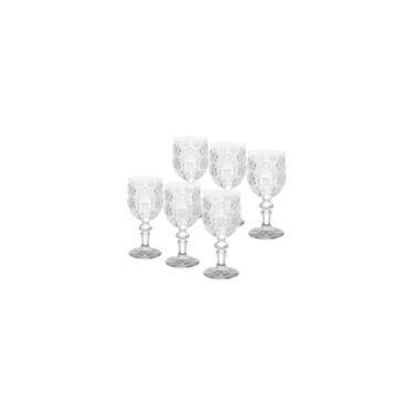 Imagem de Jogo 6 Taças De Vidro Para Vinho Starry Bon Gourmet