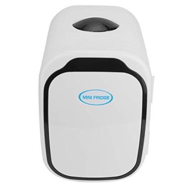 Geladeira portátil para freezer de carro, com visor digital de 6 L, mini geladeira de carro, geladeira elétrica quente e fria, para caminhão, van, viagem de carro, ar livre, acampamento, piquenique, churrasco (EUA)