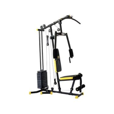 Imagem de Estação De Musculação Kikos Gx Supreme Black - 25 Em 1 45Kg