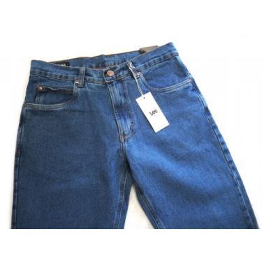 Calça Jeans Lee Chicago Masculina Tradicional 100% Algodao Stone Clara