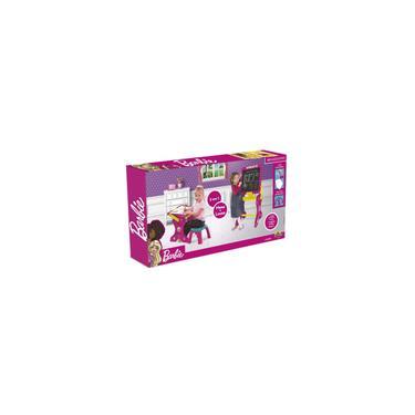 Imagem de Brinquedo Massinha Barbie Mesa Educativa 2 Em 1 Fun 84284