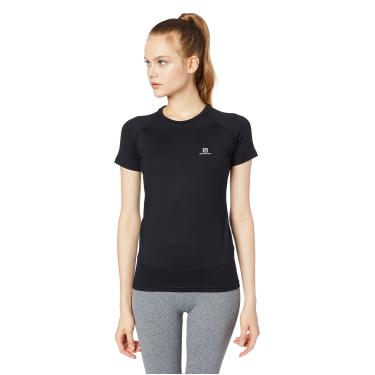Camiseta Feminina Hybrid SS Tee Salomon Mulheres M