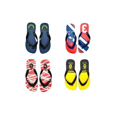 Kit 4 Pares De Chinelo Masculino Polo Culture