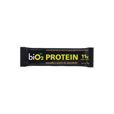 Protein Bar Baunilha e Pasta de Amendoim 45g biO2