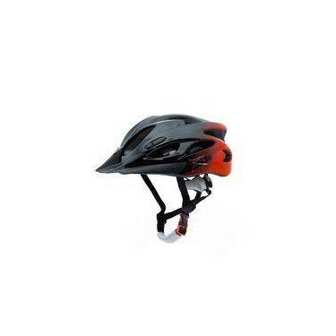 Capacete Tsw Raptor 1 Vermelho Brilhante Com Sinalizador Traseiro Tamanho M 54/58 Cm Com Regulagem