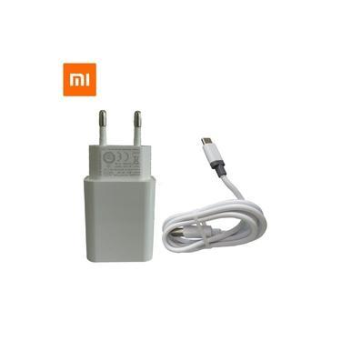 Carregador Xiaomi + Cabo USB Tipo-C TurboPower Mi 8 Lite