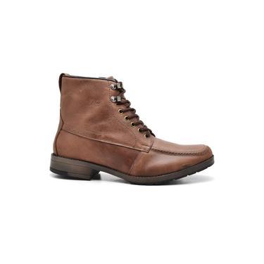 Coturno Boots Masculino Couro Village R.O. 8908 Fossil Cappuccino