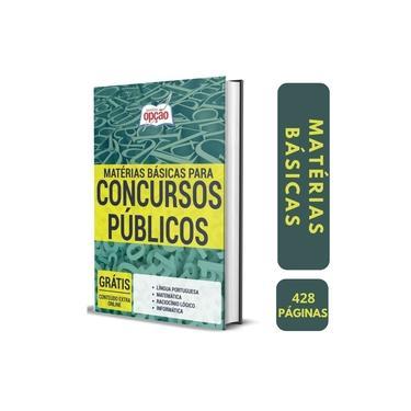 Imagem de Apostila Materias Basicas para Concursos Publicos - Ed. Opção