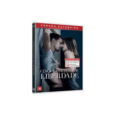 DVD - Cinquenta Tons De Liberdade