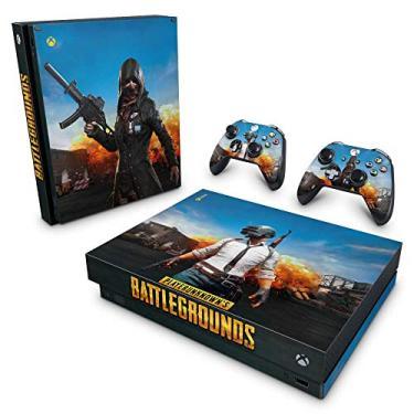 Skin Adesivo para Xbox One X - Players Unknown Battlegrounds Pubg