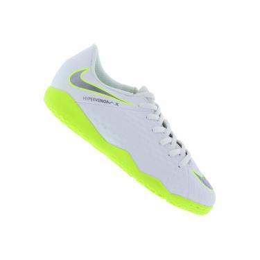 Chuteira Futsal Nike Hypervenom Phantom X 3 Academy IC - Infantil Nike Unissex