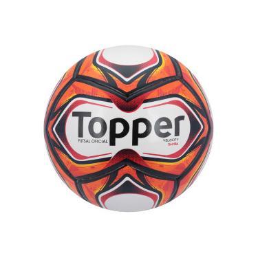 Bola de Futsal Topper Samba TD1 2018 - BRANCO VERMELHO Topper 1e15895d904f1