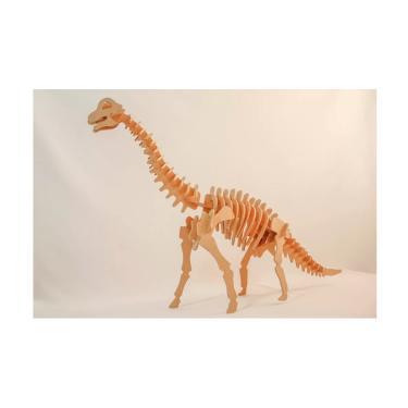 Imagem de Quebra-Cabeça 3D Braquiossauro 51 Peças - Dinobrinque