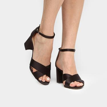 c5a930c874 Sandália Shoestock Salto Bloco - Feminino