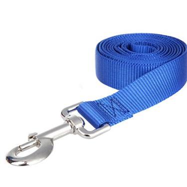 Coleira de cachorro - 20M Long Dog Puppy Pet Puppy Training Leash de Obediência (Azul)