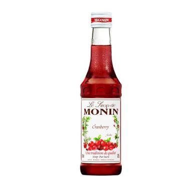 Xarope Monin Cranberry Monin Sabor 250Ml