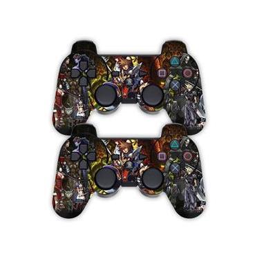 Adesivo Pra Controle Ps3 Kingdom Hearts - Não É Controle
