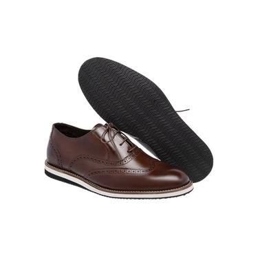Sapato Oxford Masculino Sport 100% Couro Lancamento Zaykkon