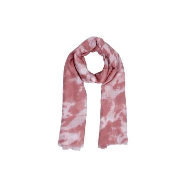 Echarpe Tie Dye Rosa 180X90Cm