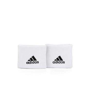 Imagem de Munhequeira Curta Adidas Tennis Branca - Com 02 Unidades