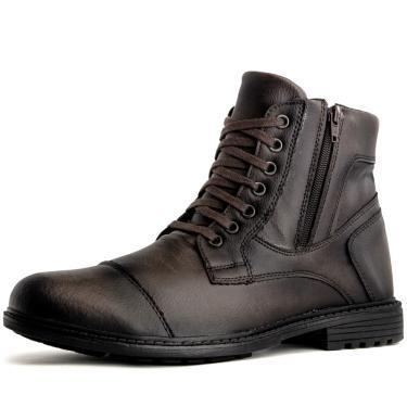 7bdb11b0d60 Bota Touro Boots Durhan Café masculino