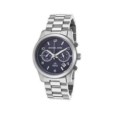 Relógio Feminino Watch Hunger Stop 100 Series Chrono Stainless Steel Blue  Dial - Modelo M. bac0025495