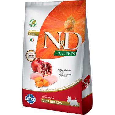 Ração Farmina N&D Pumpkin Carnes Nobres Frango para Cães Adultos de Raças Pequenas - 800 g