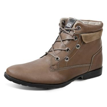 Bota Dress Boot Sandro Republic Strike Marrom Claro  masculino