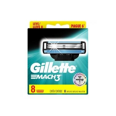 Imagem de Carga para Aparelho de Barbear Gillette Mach 3 Leve 8 Pague 6