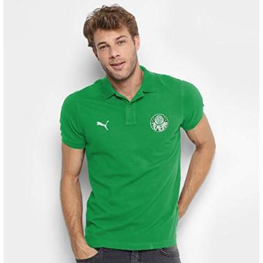 Camisa Palmeiras Exclusiva 100% Bordada (P, Verde)