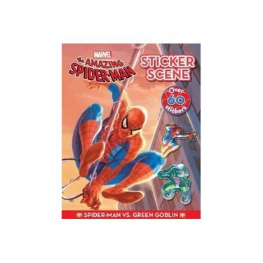 Marvel The Amazing Spider-Man Spider-Man vs. Green Goblin Sticker Scene (Sticker Scenes)