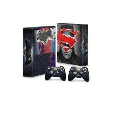 Skin Adesivo para Xbox 360 Super Slim - Batman Vs Superman