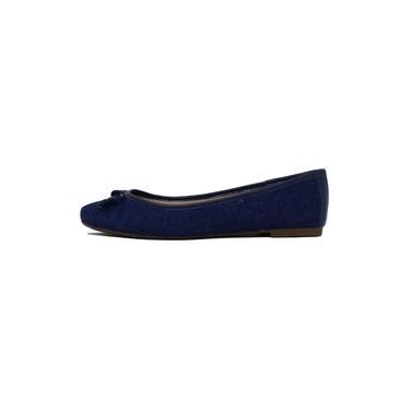 Sapatilha Feminina Arezzo A11663 Jeans