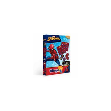Imagem de Jogo de Bingo Infantil - Marvel - Spiderman - Toyster