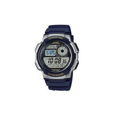 9270944e7a2 Relógio Masculino Casio Esportivo Hora Muldial Ae-1000w-2avdf
