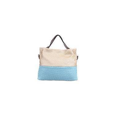 Bolsa Shoulder Bag  Niéger Trecê Bicolor