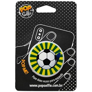 Apoio para celular - Pop Selfie - Original Bola Futebol Ps238, Pop Selfie, 151478, Branco