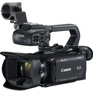 Filmadora Canon XA15 Full HD Profissional Zoom 20x HD com SDI, HDMI e Composta Saída