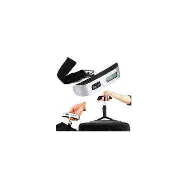 Imagem de Balança Portátil Digital de Mão para Mala e Bagagem