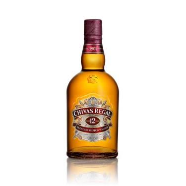 Chivas Regal Whisky 12 anos Escocês - 750ml - Pernod ricard