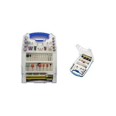 Acessórios para mini Retifica esmeril 137 peças tipo Dremel
