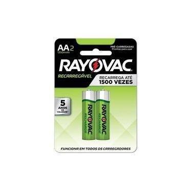 Pilha Recarregável Rayovac Aa P/ Controle X-Box One